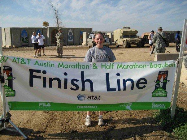 Liv's Iraq Marathon