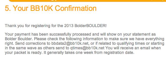 BB13 registration confirm