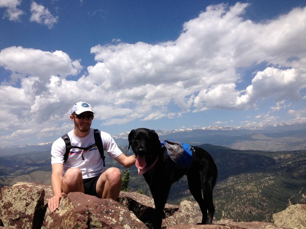 3rd Summit: South Boulder Peak (8,549ft)