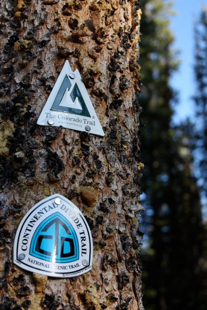 The CT is an east/west trail that runs 483 miles across Colorado from Denver to Durango