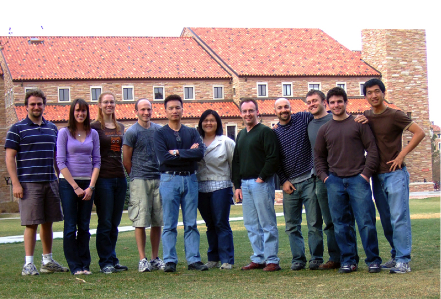 Our Research Group, Fall 2008
