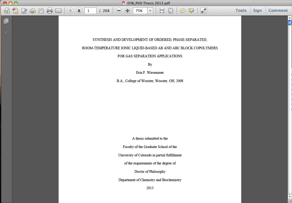 My thesis is COMPLETE!